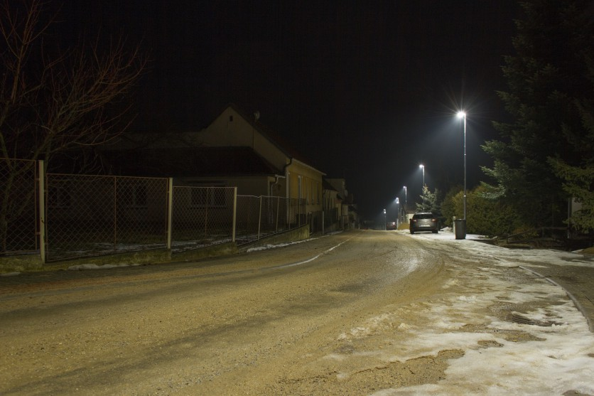Street lighting - Kravsko