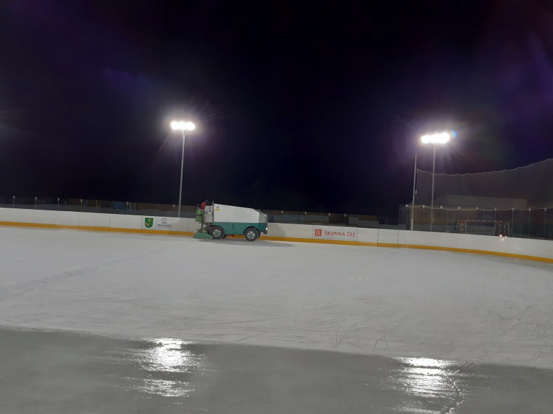 Ice hockey stadium Rouchovany