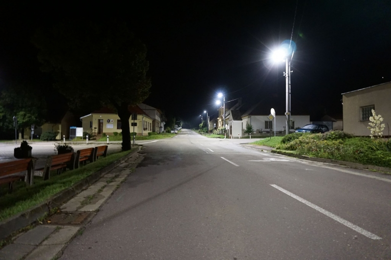 Street lighting - Dobelice