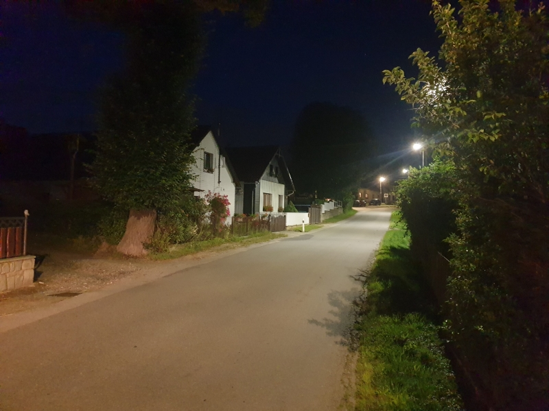 Street lighting - Rantířov