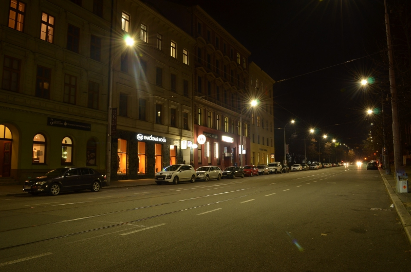 Street lighting - Brno
