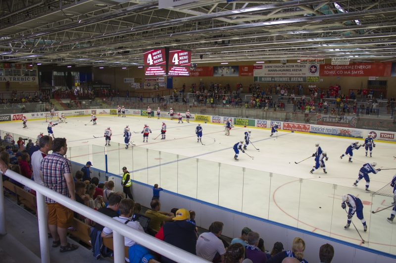 Ice hockey stadium Třebíč