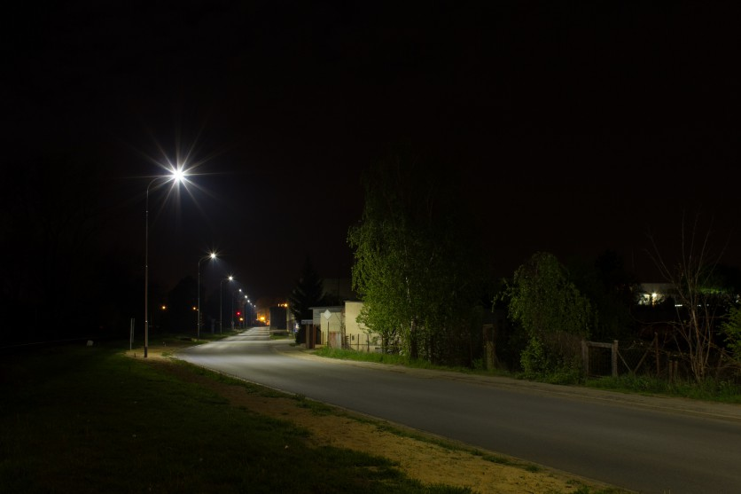 Street lighting - Ivančice