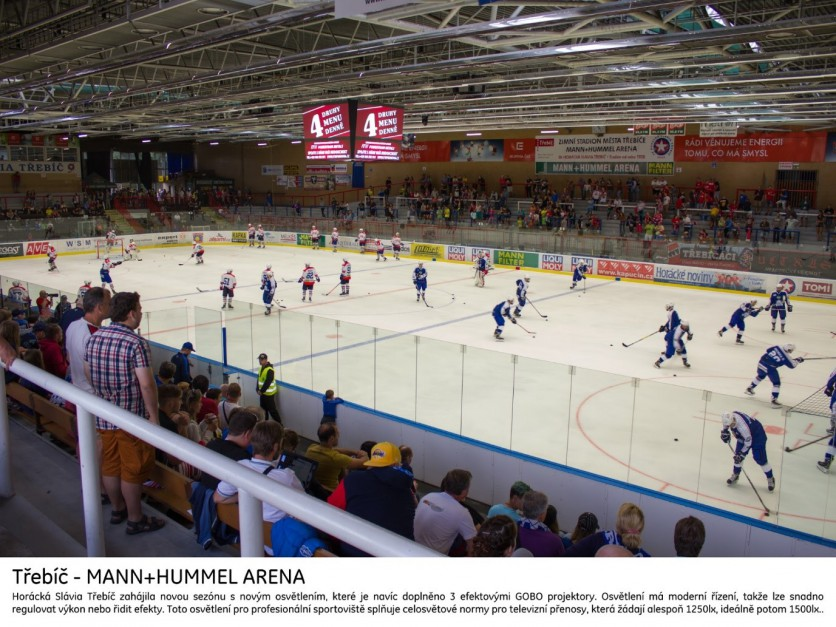 Ice hockey stadiums